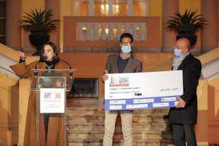 اورنچ مصر تكريم الفائزين فى أول مسابقة فرنسية مصرية للشركات الناشئة محلياً.
